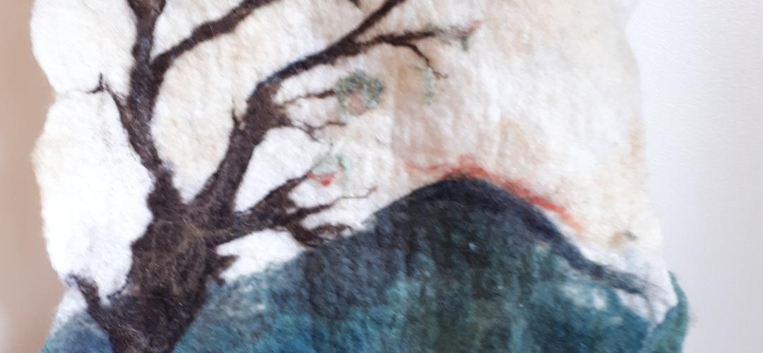 Textiles, artist, Jane Keogh, Lulworth, Animals, Felt